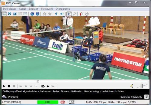 DVB Viewer screenshot