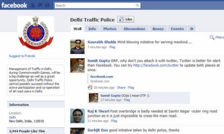 FB - Delhi police