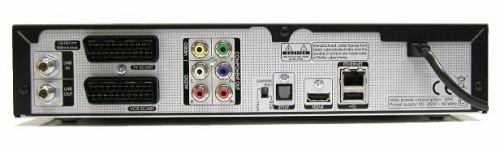 Humax HDCI-5000 zadní panel