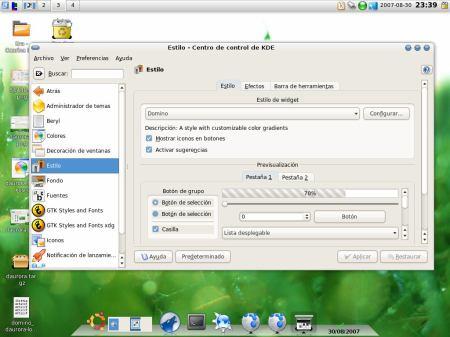 KDE theme 1
