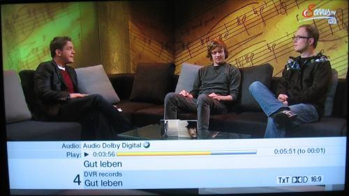 Test DVB-T2 Brno - Servus TV