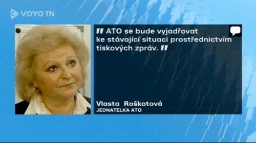 Nova - Televizní noviny, Vlasta Roškotová