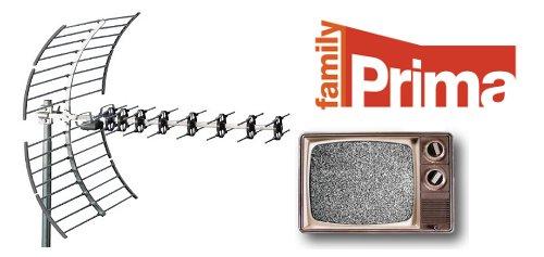 Prima family - anténa, televizor zrnící