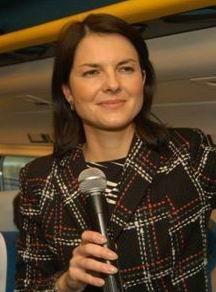 Dana Bérová mikrofon
