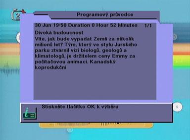 BigSat 6800 EPG II