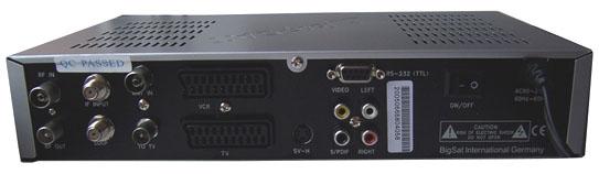BigSat 6800 zezadu