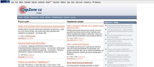 Blogy DigiZone.cz