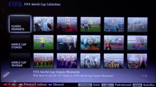 Sony KDL-40LX900 - Bravia Internet Video - FIFA World Cup