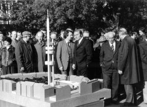 Výstavba věže Žižkov - archiv