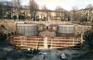 Výstavba věže Žižkov - archiv 2