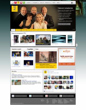 Nový web ČT - ČT 2 2011