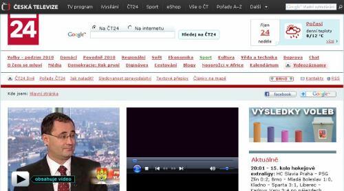 ČT 24 - web