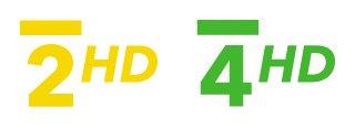 ČT 2 HD, ČT 4 HD - logo
