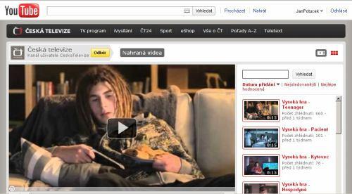 ČT - kanál na YouTube