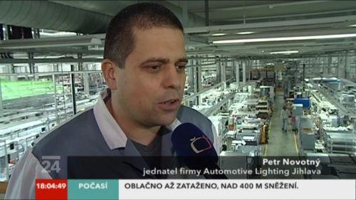 ČT24 - nová lišta - screenshot