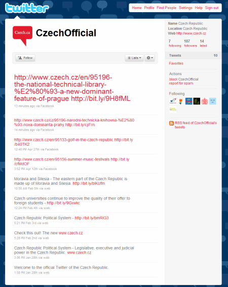 Czech Republic (CzechOfficial) on Twitter
