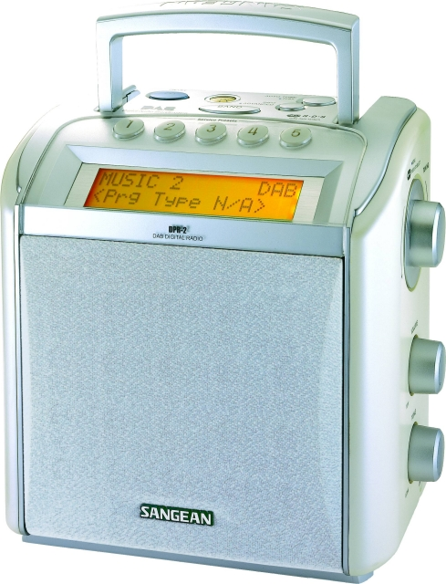 T-DAB přijímač Sangean radio