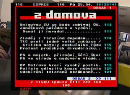 DI-WAY T-2200 teletext