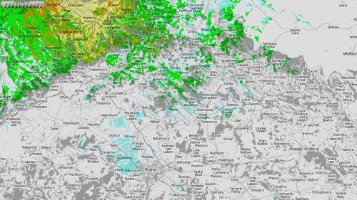 Mapy pokrytí - Dresden