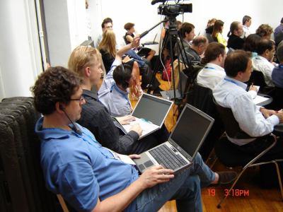 Google Press day 2007 - publikum
