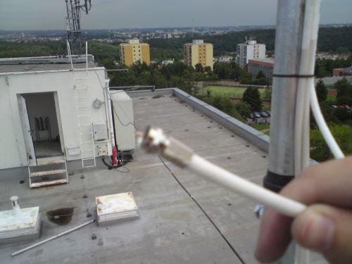 Výměna VKV antény - Kathrein ABH 01 - 22