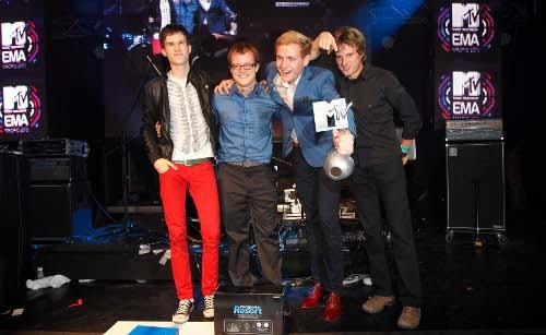 MTV EMAs 2010 - Charlie Straight