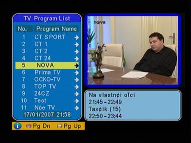 AVer Media STB7 EPG