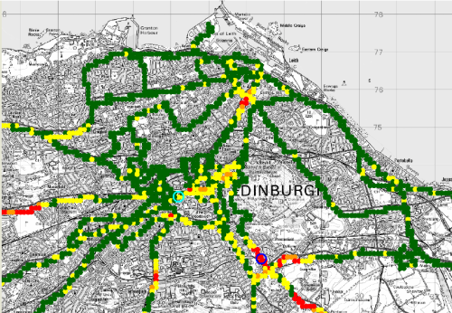 Test DRM+ v Edinburghu - E 16-QAM