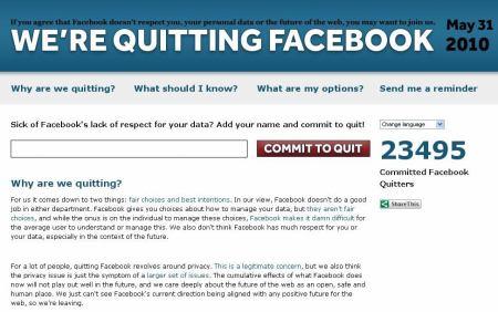 Quit FB