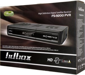 HD-BOX 9200 PVR - krabice