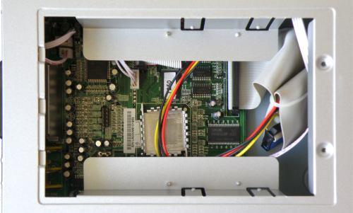 FTE PVR T250 - šachta HDD