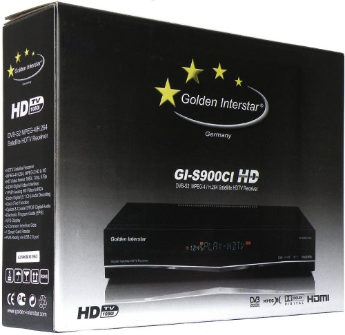 Golden Interstar GI-D900CI HD - krabice