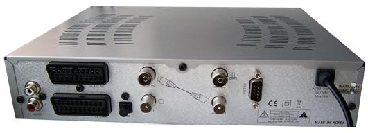 Homecast T3102 zezadu
