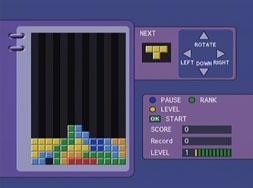 Kaon KTF-230 hry - tetris