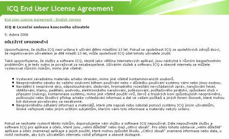 ICQ licence