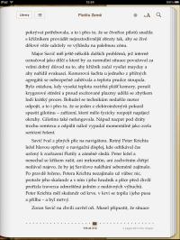 iPad jako čtečka knih, eknih, ebook
