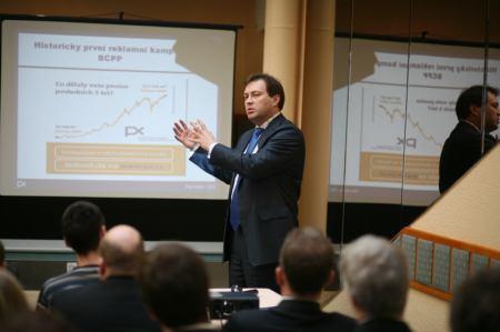 Petr Koblic, generální ředitel, Burza cenných papírů Praha