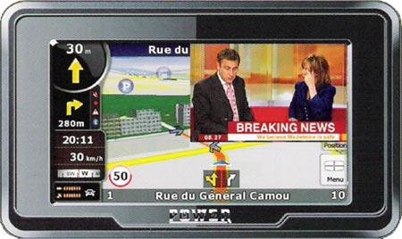 IFA GPS plus televizor
