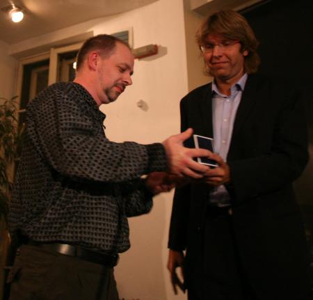 Křišťálová Lupa 2006 - Miloš Čermák