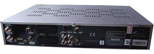 Interstar DVB-T-S 8200 zezadu