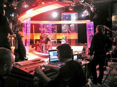 TV Joj studio pořadu Defacto