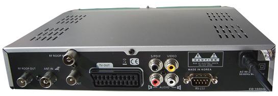 Kaon KTF-230 zezadu