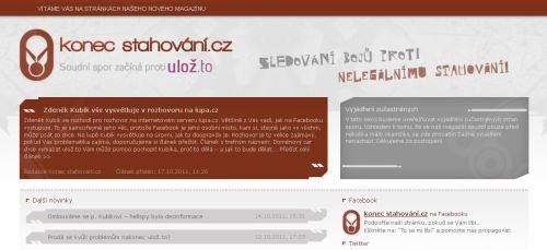 Web Konecstahování.cz