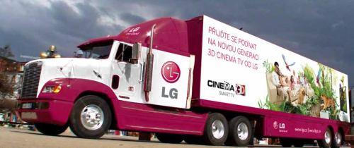 LG truck vizualizace