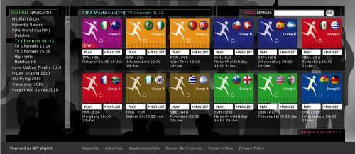MS fotbal 2010 - web EBU seznam simulcastů