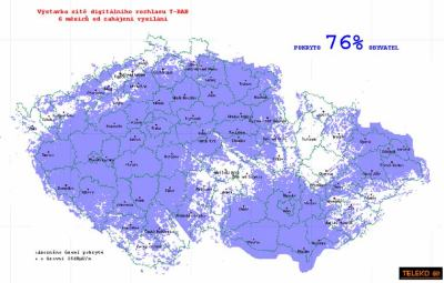 Mapa T-DAB Teleko 2