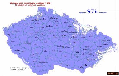 Mapa T-DAB Teleko 3