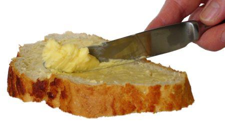 Mazání chleba