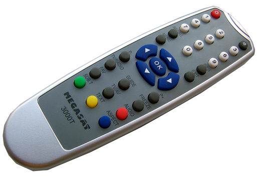Megasat 3000T ovladač