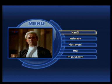 Optimum 800 menu